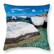The Baths Throw Pillow