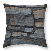 The Battery Wall Throw Pillow