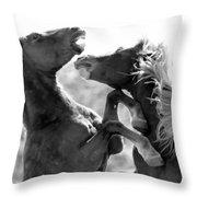 The Battle Throw Pillow