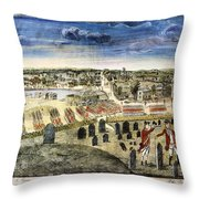 The Battle Of Concord, 1775 Throw Pillow