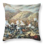 The Battle Of Little Big Horn, June 25th 1876 Throw Pillow