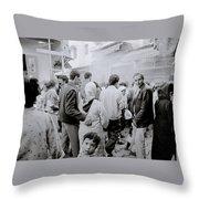 The Bazaar Throw Pillow