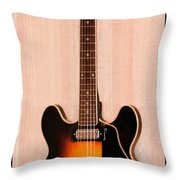 The Beach Boys Brian Wilson's Guitar Throw Pillow