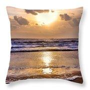 The Beach Part 2 Throw Pillow