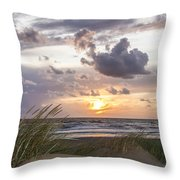The Beach Part 3 Throw Pillow