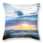 The Beach Part 4 Throw Pillow