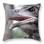 The Beak Of A Preator Throw Pillow