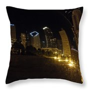 The Bean Throw Pillow