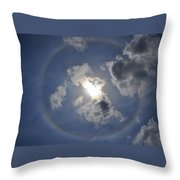 The Beauty Above Throw Pillow
