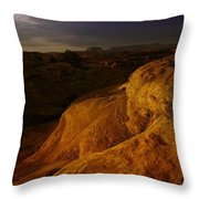 The Beauty Of Canyonlands Throw Pillow