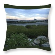 The Beauty Of Connecticut's Shoreline Throw Pillow