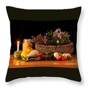 The Beauty Of Fall Throw Pillow