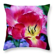 The Beauty Of Flowers Throw Pillow