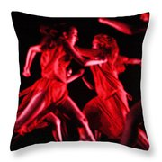 The Beauty Of Motion Throw Pillow