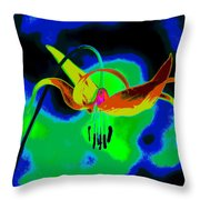 The Beauty Of Natural Grace Throw Pillow