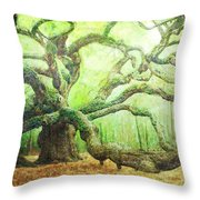 The Beauty Of Old Age Throw Pillow