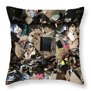 The Beauty Of Recycling Throw Pillow