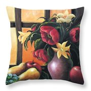 The Beauty Of The Moment   Throw Pillow