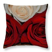 The Beauty Of Three Throw Pillow