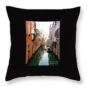 The Beauty Of Venice Throw Pillow