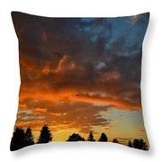The Beginning Of A New Day Throw Pillow