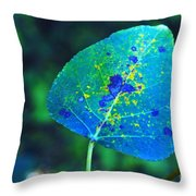 The Beginning Of Change  Throw Pillow