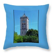 The Bell Tower 1 Throw Pillow