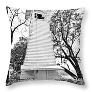 The Bell Tower Throw Pillow
