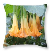 The Bells Are Ringing Throw Pillow