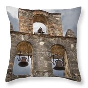 The Bells Of Espada Throw Pillow