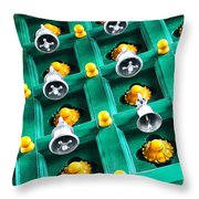 The Bells Of Kapaleeshwarar Throw Pillow