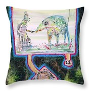 The Beloved Ones Throw Pillow