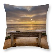 The Bench Iv Throw Pillow
