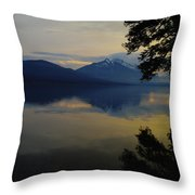 The Bend Before Paradise Throw Pillow