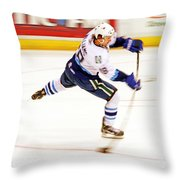 The Bend Throw Pillow
