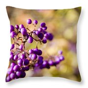 The Berries Throw Pillow