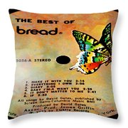 The Best Of Bread Side 1 Throw Pillow