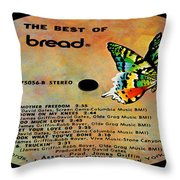 The Best Of Bread Side 2 Throw Pillow
