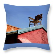 The Best Seat In The House Throw Pillow
