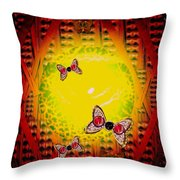 The Best Way To Freedom Pop Art Throw Pillow