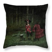 The Big Bad What?  Throw Pillow