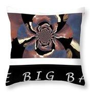 The Big Bang - Creation Of The Universe Throw Pillow