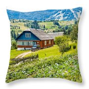 The Big Dacha Throw Pillow