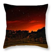 The Big Dipper Throw Pillow