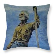 The Big Dry Throw Pillow