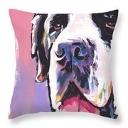 The Big Saint Throw Pillow