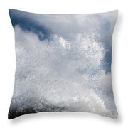 The Big Splash Throw Pillow