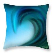 The Big Wave Of Hawaii 5 Throw Pillow