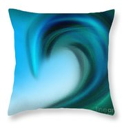 The Big Wave Of Hawaii 6 Throw Pillow