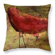 The Bird - 24a Throw Pillow